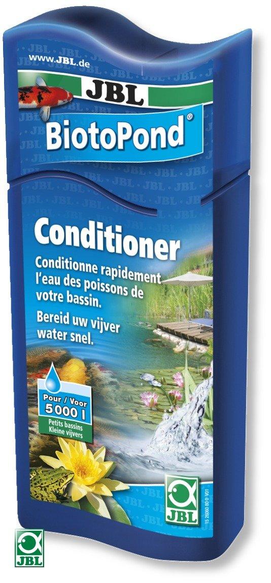 JBL BiotoPond 250 ml conditionneur d\'eau pour bassin. Traite jusqu\'à 5000 L