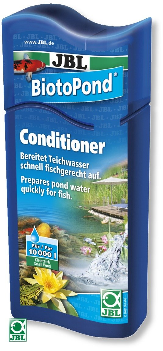 JBL BiotoPond 500 ml conditionneur d\'eau pour bassin. Traite jusqu\'à 10000 L