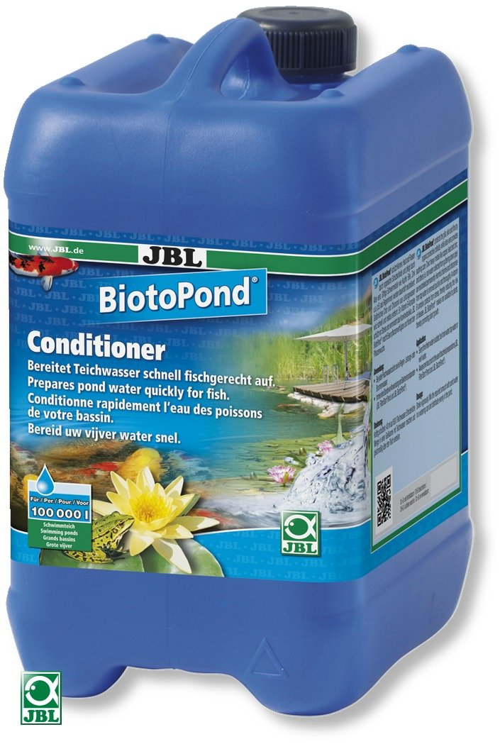 JBL BiotoPond 5 L conditionneur d\'eau pour bassin. Traite jusqu\'à 100000 L