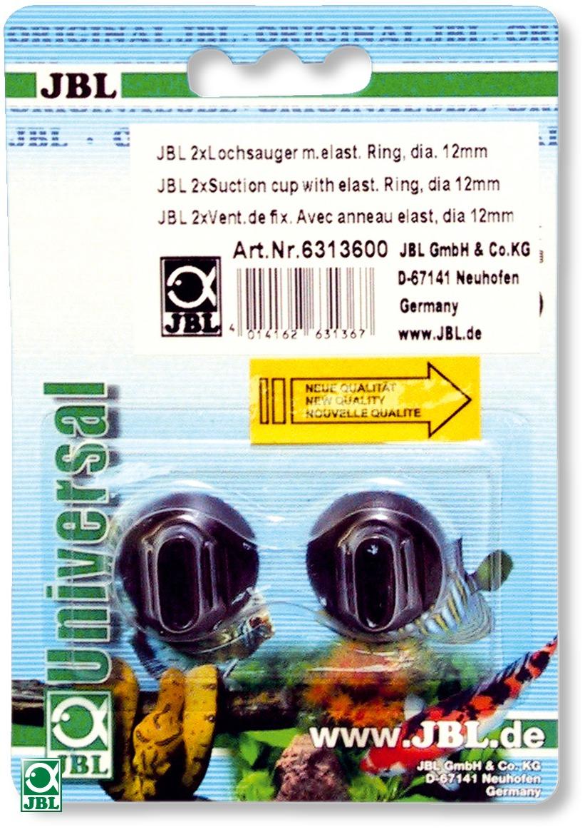 Lot de 2 ventouses JBL à anneau élastique 12 mm pour objet de 12 à 13 mm de diamètre
