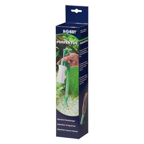 Aspirateur air hobby perfektus pour le nettoyage facile for Aspirateur fond aquarium