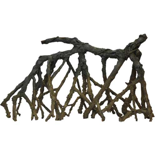 Hobby mangrove set 1 2 et 3 kit de 3 racines artificelles for Racine aquarium