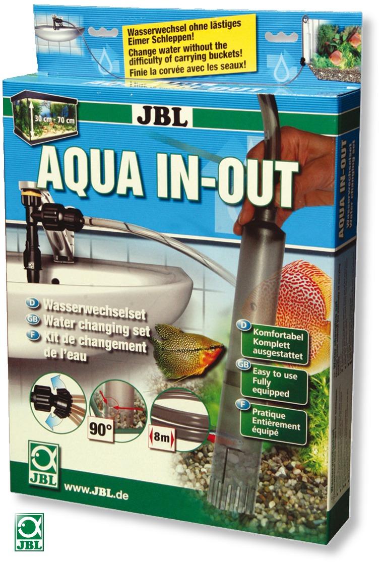 JBL Set complet Aqua In-Out pour les changements d\'eau et le remplissage de votre aquarium