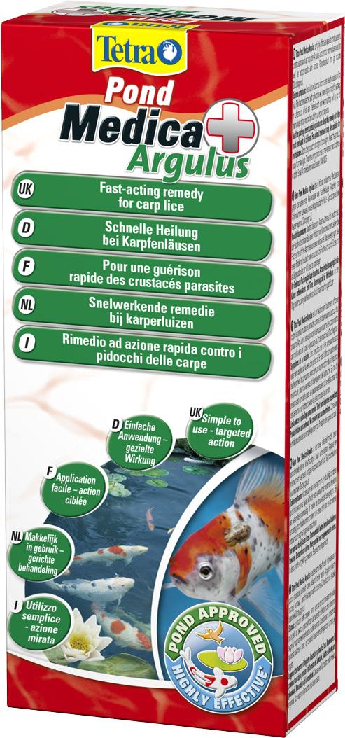 tetra pond argulus 250 ml m dicament contre les vers et parasites pour poissons de bassin. Black Bedroom Furniture Sets. Home Design Ideas