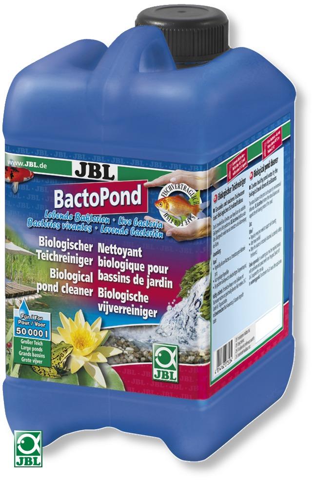 JBL BactoPond 2,5 L favorise l\'auto-épuration biologique grâce à la présence de bactéries. Traite jusqu\'à 50000 L