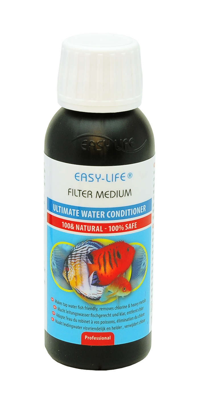 EASY-LIFE Filtre Medium 100ml conditionneur naturel multi-application pour aquariums jusqu\'à 300 litres
