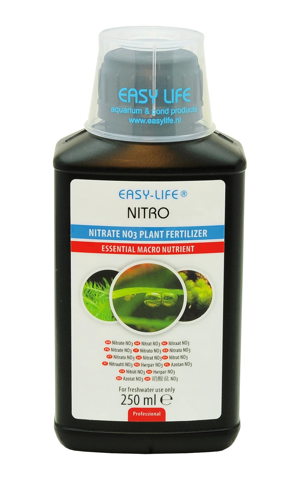 EASY-LIFE Nitro 250ml pour le contrôle de la teneur en NO3 dans les aquariums plantés