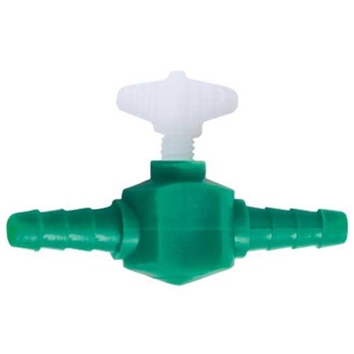 Lot de 2 robinets HOBBY en plastique pour tuyau d\'air 4/6 mm