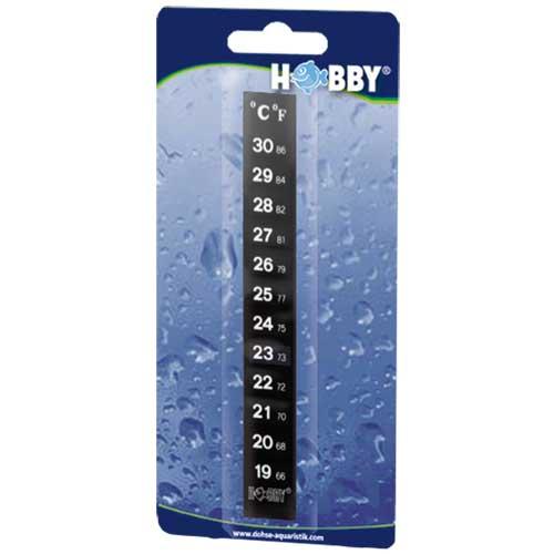 Thermomètre digital HOBBY à coller sur la vitre extérieure de l\'aquarium