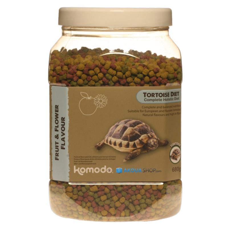 KOMODO Tortoise Fruit & Flower 680 gr. nourriture à base de fruits et de fleurs pour tortues de terre