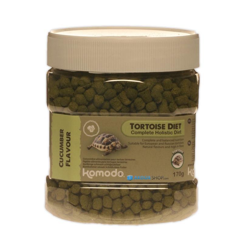 KOMODO Tortoise Diet Cucumber 170 gr. nourriture saveur Concombre pour tortues de terre