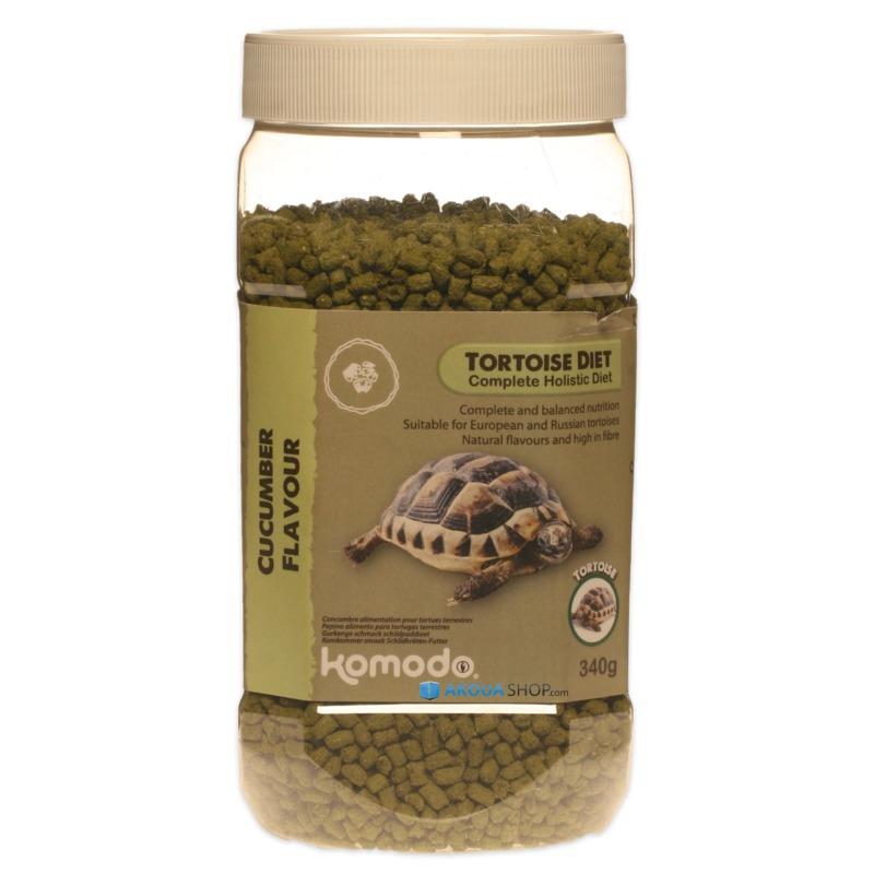 KOMODO Tortoise Diet Cucumber 340 gr. nourriture saveur Concombre pour tortues de terre