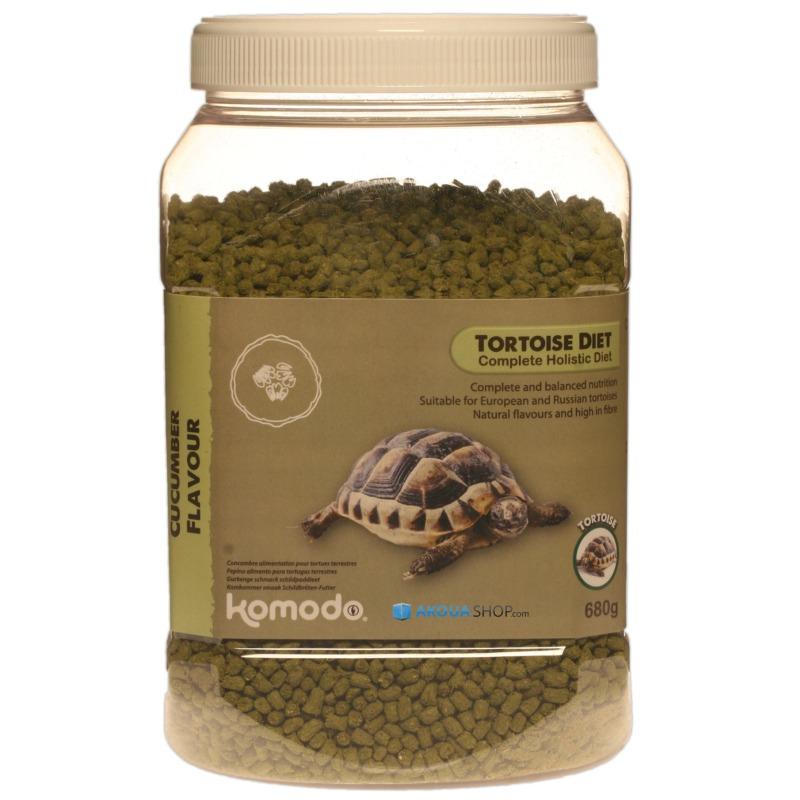 KOMODO Tortoise Diet Cucumber 680 gr. nourriture saveur Concombre pour tortues de terre