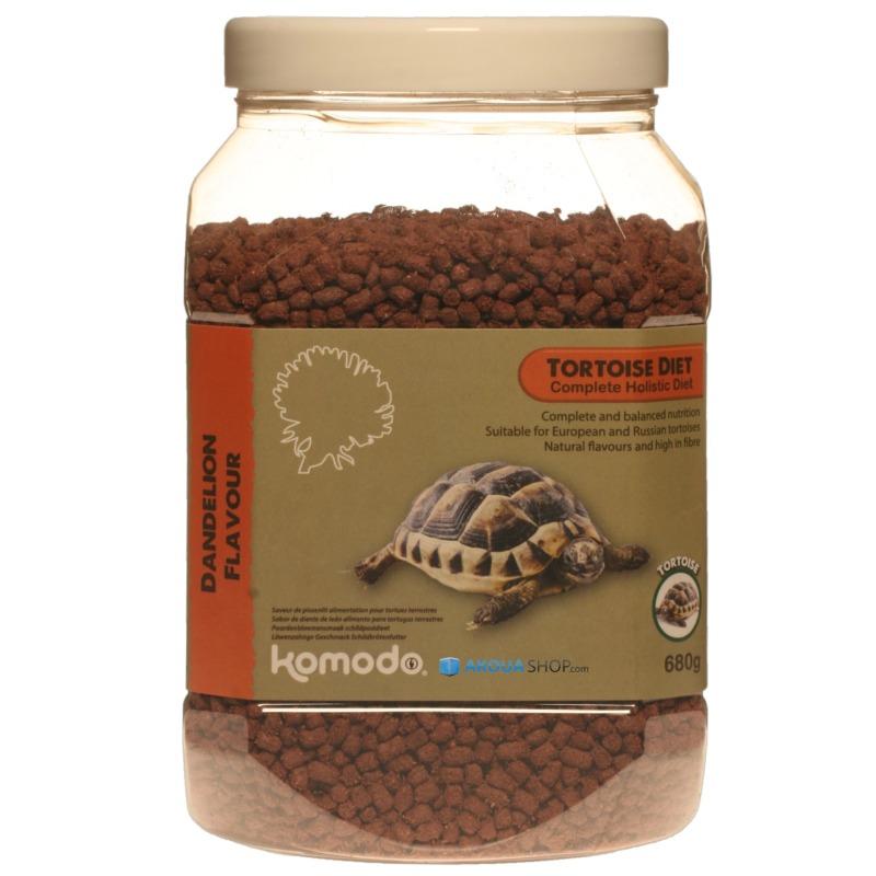 KOMODO Tortoise Diet Dandelion 680 gr. nourriture à base de pissenlits pour tortues de terre