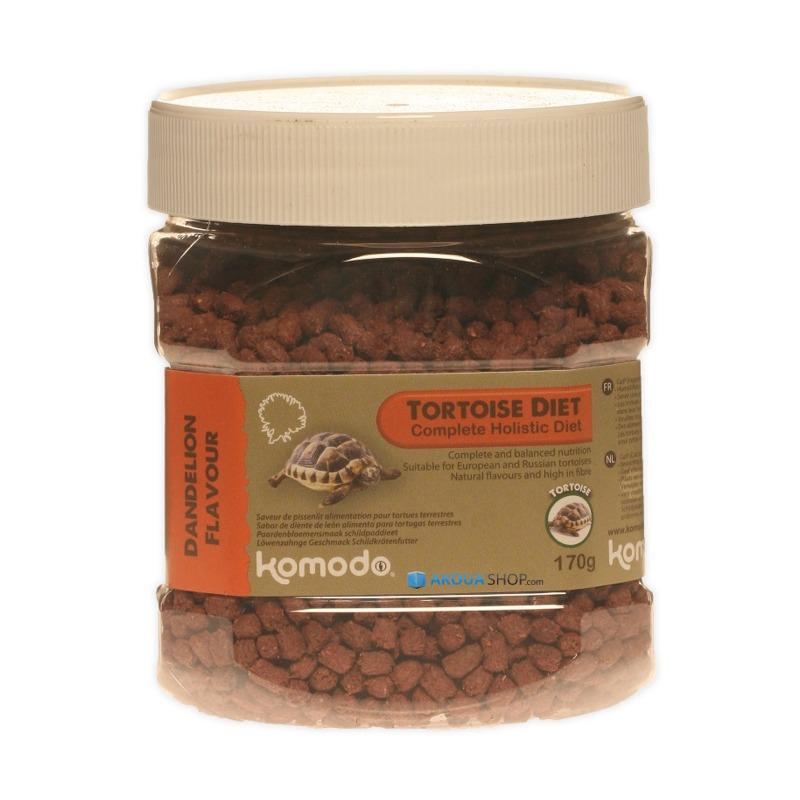 KOMODO Tortoise Diet Dandelion 170 gr. nourriture à base de pissenlits pour tortues de terre
