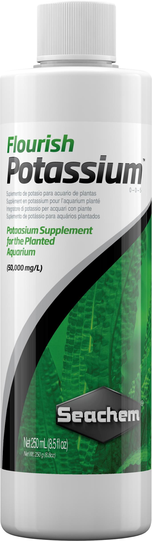 SEACHEM Flourish Potassium 250 ml maintien une bonne croissance des plantes aquatiques