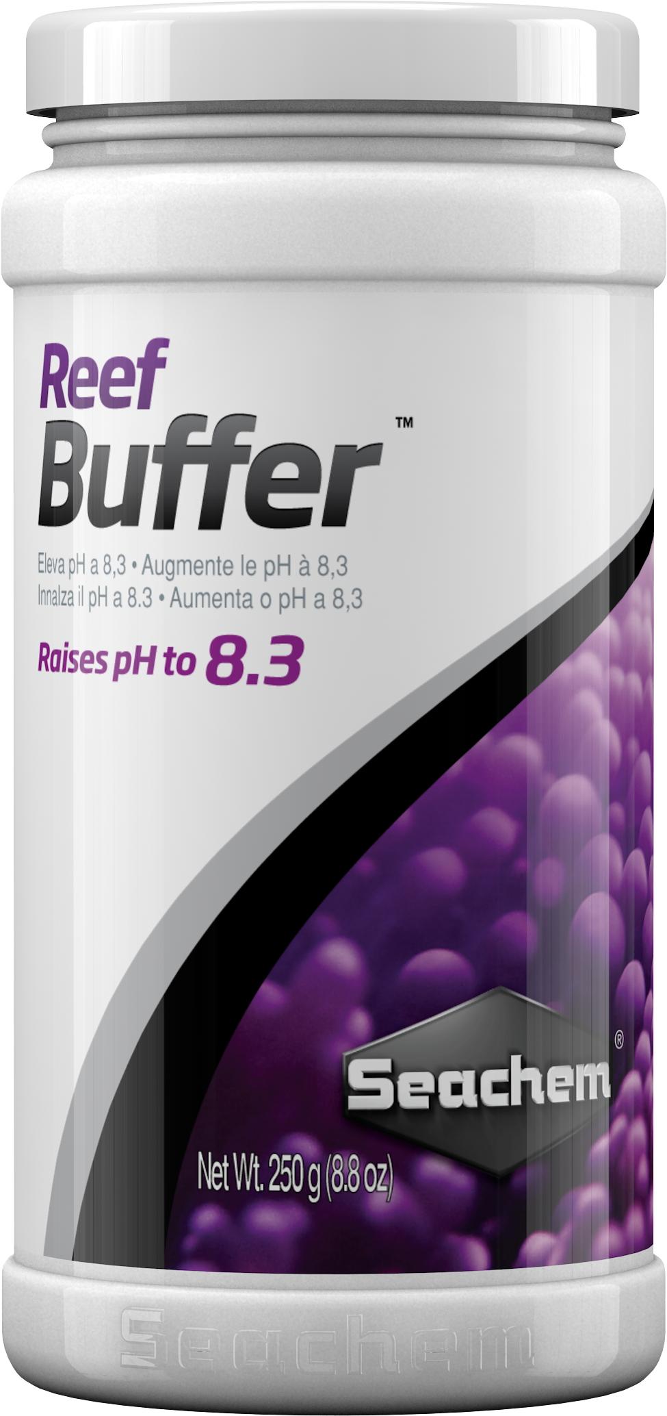 SEACHEM Reef Buffer 250 gr. stabilise le pH à 8.3 en aquarium récifal