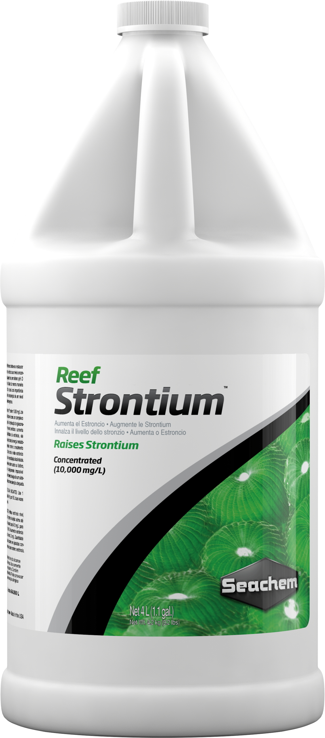 SEACHEM Reef Strontium 4 L complément concentré qui maintient et restaure le niveau de Strontium