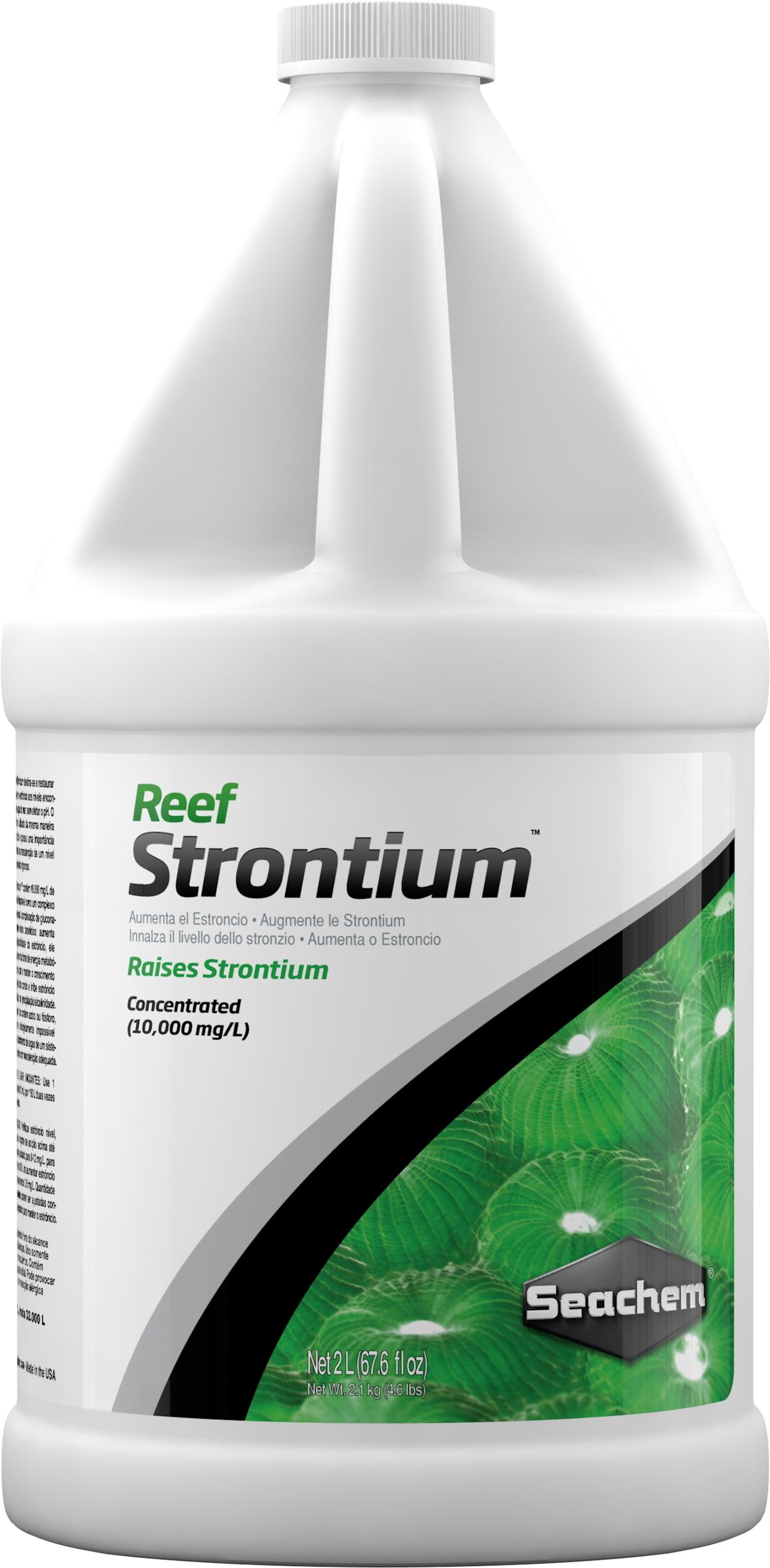 SEACHEM Reef Strontium 2 L complément concentré qui maintient et restaure le niveau de Strontium