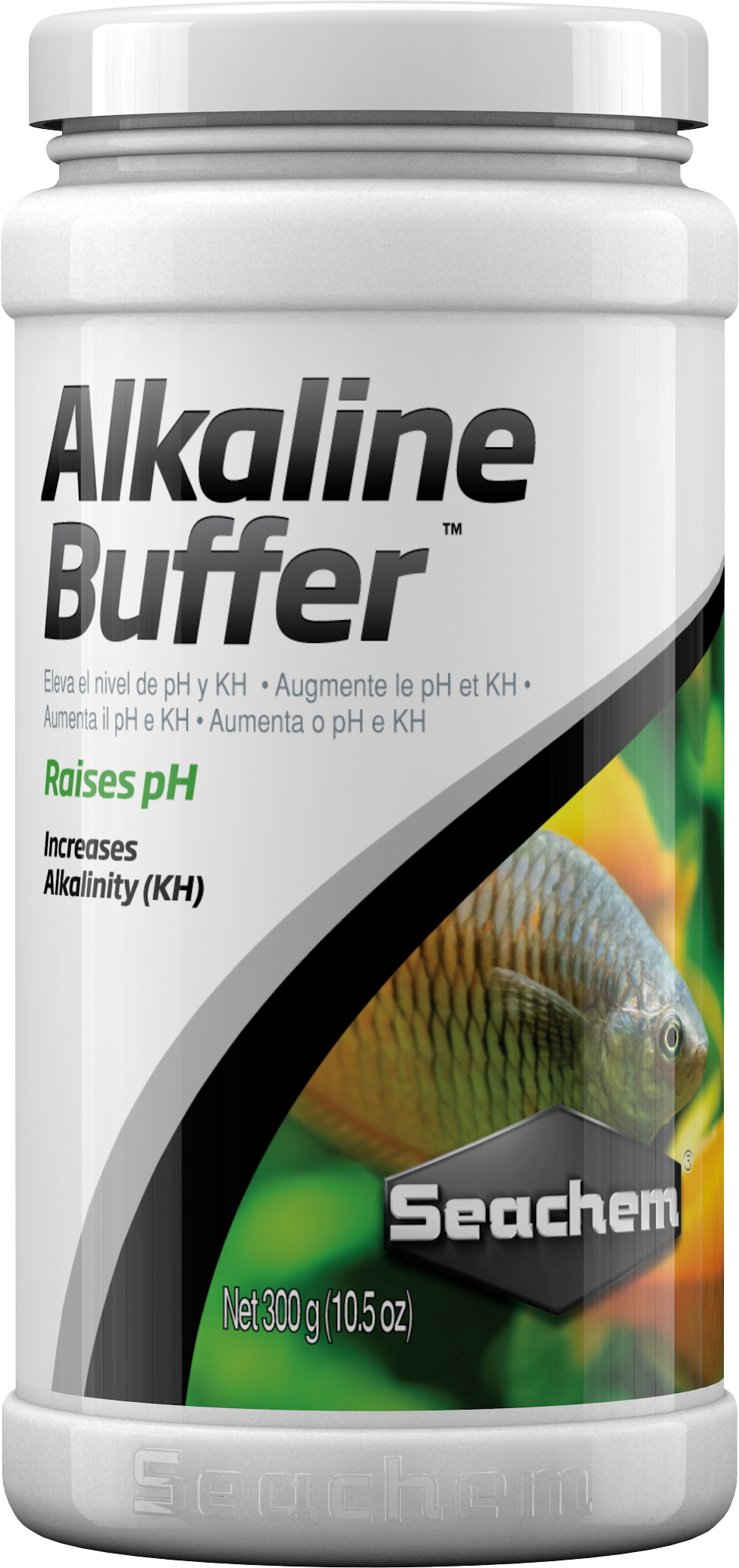 SEACHEM Alkaline Buffer 300 gr. solution tampon pour augmenter et stabilser le pH entre 7.4 et 8.4