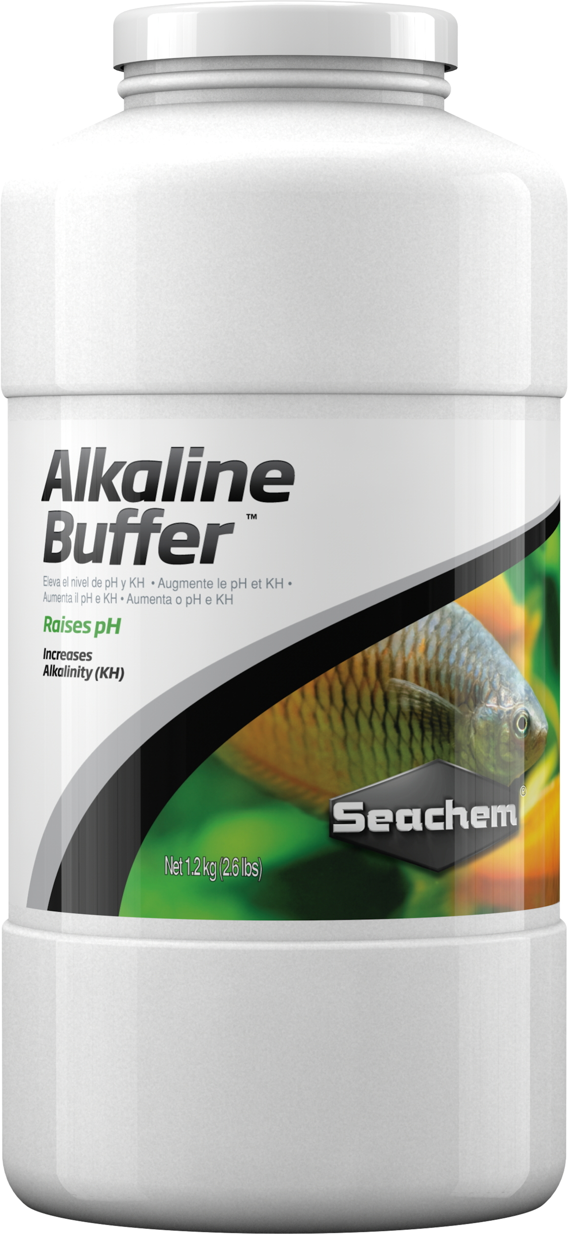 SEACHEM Alkaline Buffer 1,2 Kg solution tampon pour augmenter et stabilser le pH entre 7.4 et 8.4