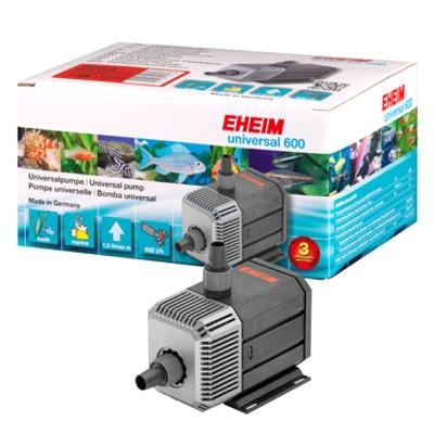 EHEIM Universal 1048 600 L/h pompe interne/externe universelle avec prise de terre et câble de 1,7m