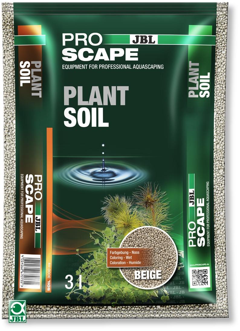 JBL ProScape Plant Soil Beige 3 L substrat d\'aquarium beige spécialement conçu pour les aquariums avec plantes