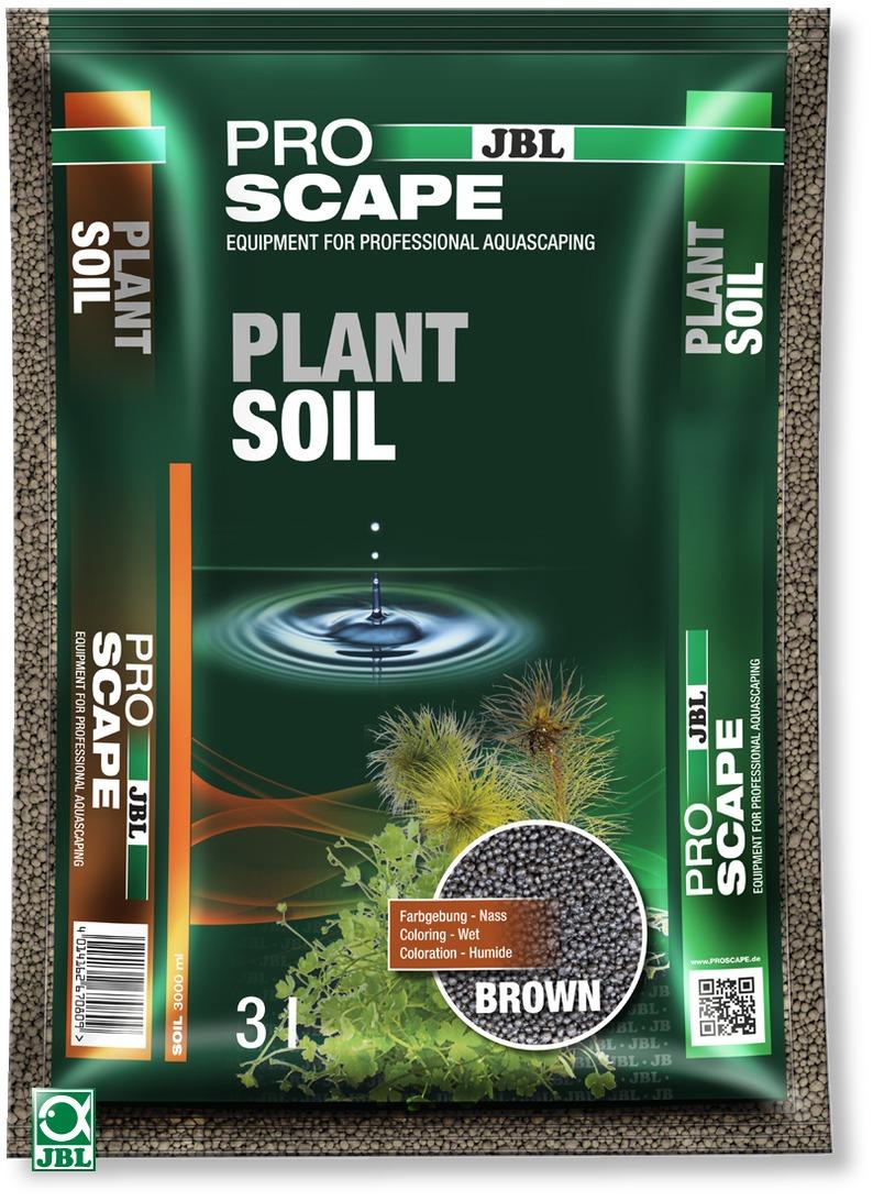 JBL ProScape Plant Soil Brown 3 L substrat d\'aquarium brun spécialement conçu pour les aquariums avec plantes