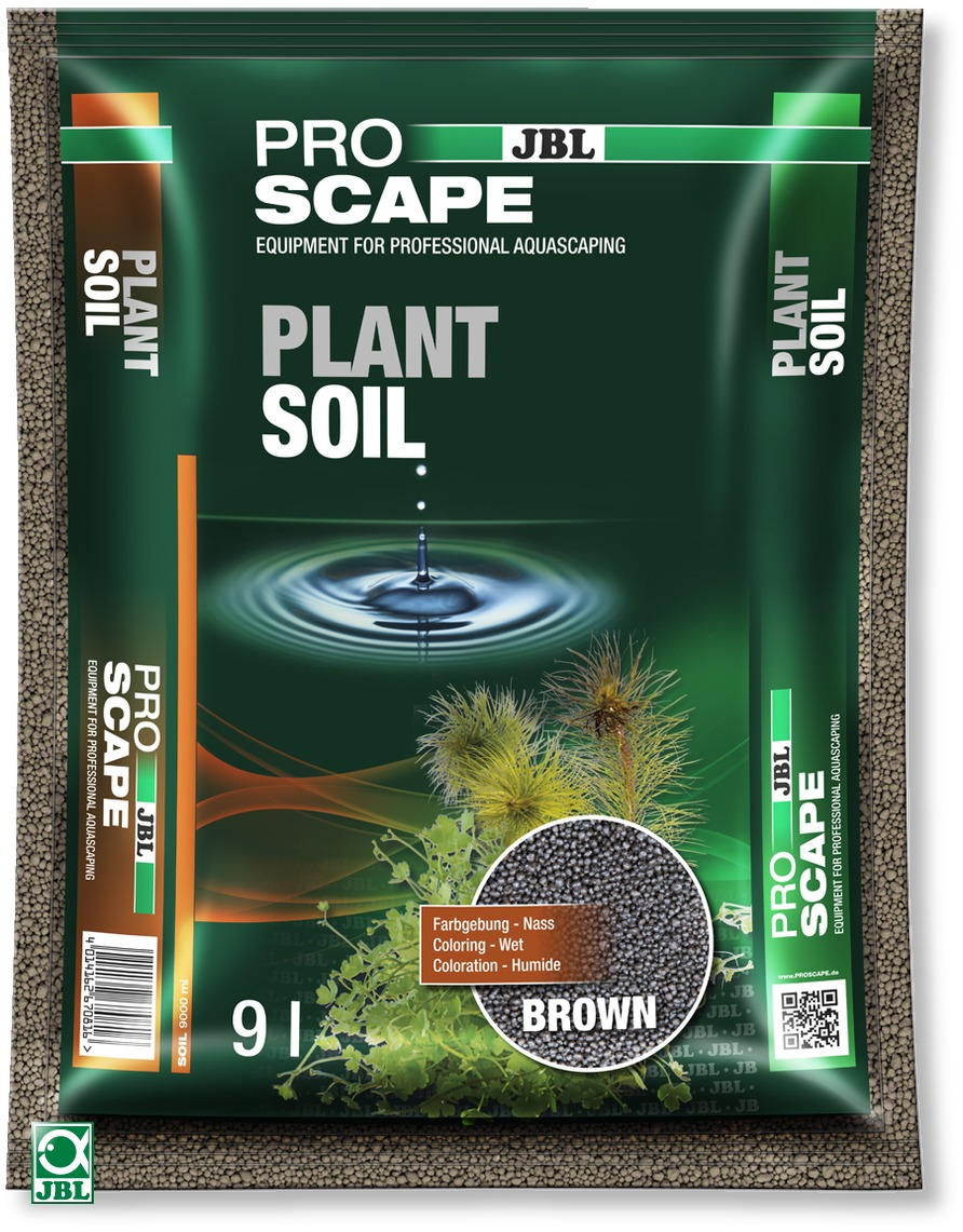 JBL ProScape Plant Soil Brown 9 L substrat d\'aquarium brun spécialement conçu pour les aquariums avec plantes