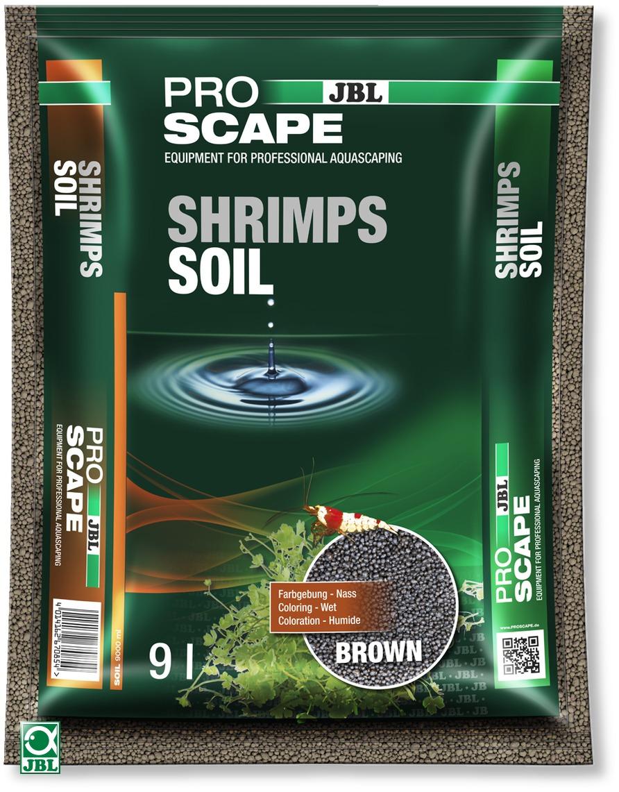 JBL ProScape Shrimps Soil Brown 9 L substrat d\'aquarium brun spécialement conçu pour les crevettes et plantes d\'aquarium