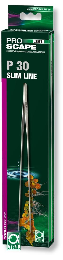 JBL ProScape Tool P 30 pince fine 30 cm en acier Nippon Steel pour l\'entretien des plantes d\'aquarium