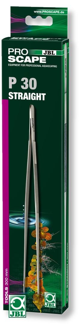 JBL ProScape Tool P 30 pince droite 30 cm en acier Nippon Steel pour l\'entretien des plantes d\'aquarium
