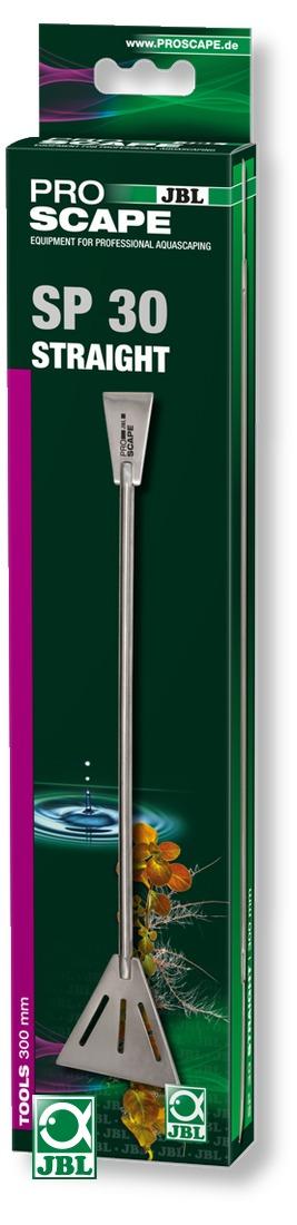 JBL ProScape Tool SP 30 spatule droite 30 cm en acier Nippon Steel pour faciliter l\'aménagement du sol et des plantes d\'aquarium