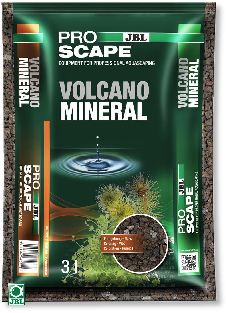 JBL ProScape Volcano Mineral 3 L sol d\'aquarium professionnel spécial aquascaping