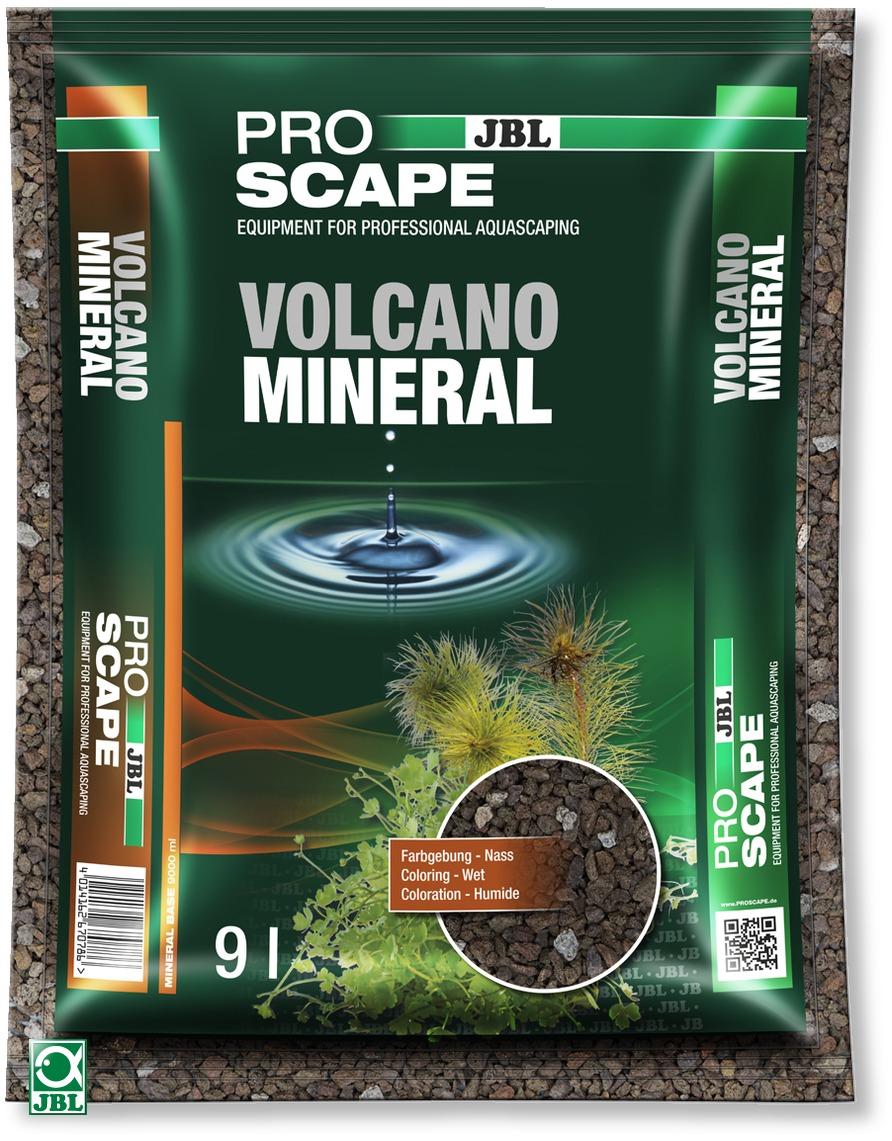 JBL ProScape Volcano Mineral 9 L sol d\'aquarium professionnel spécial aquascaping