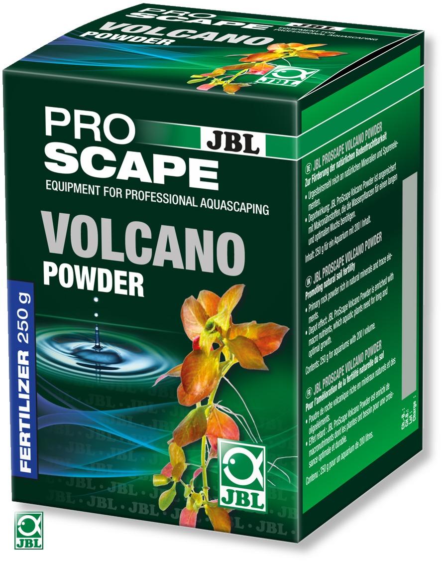 JBL ProScape Volcano Powder 250 gr. complément fertilisant en poudre pour sol d\'aquarium