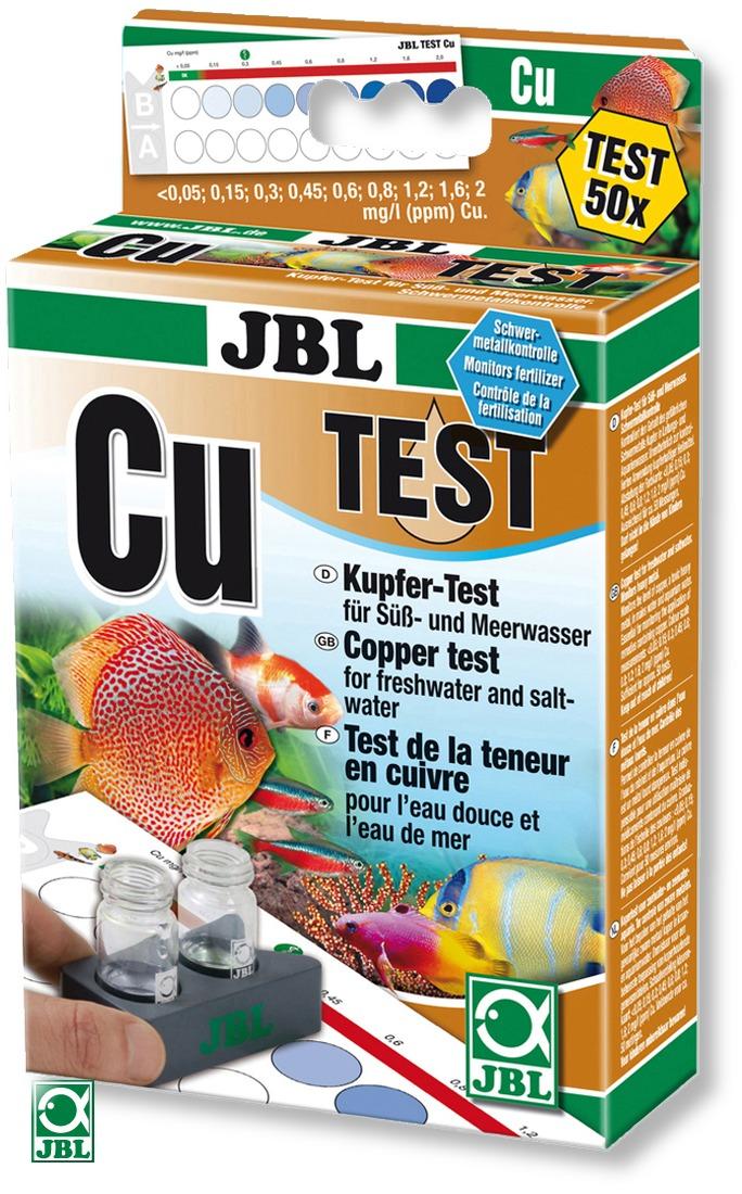JBL Test Cu mesure de la teneur de cuivre, en eau douce et eau de mer