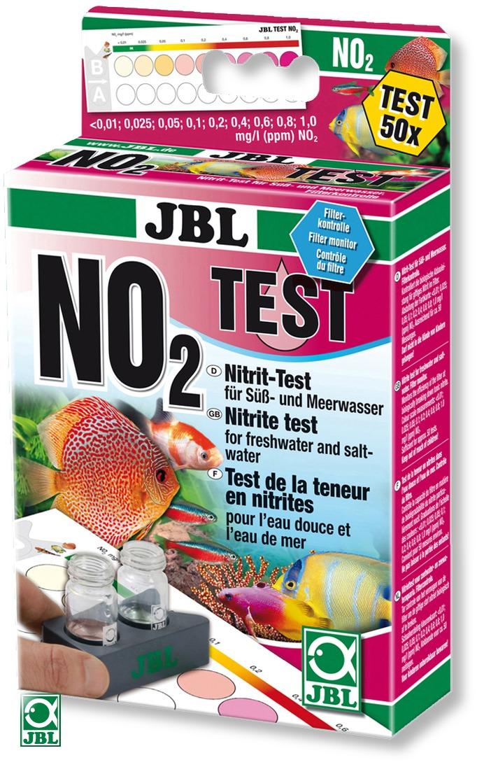 JBL Test NO2 pour la mesure du nitrite dans l\'eau douce et eau de mer