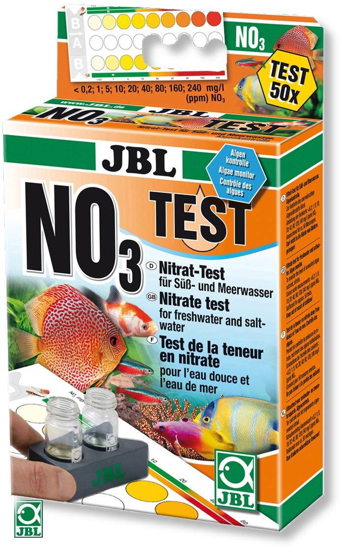 JBL Test NO3 pour la mesure du nitrate dans l\'eau douce et eau de mer