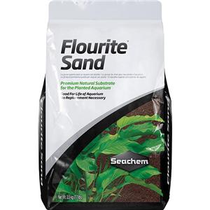 SEACHEM Flourite Red 3,5 kg substrat nutritif et décoratif de couleur rouge pour aquarium d\'eau douce