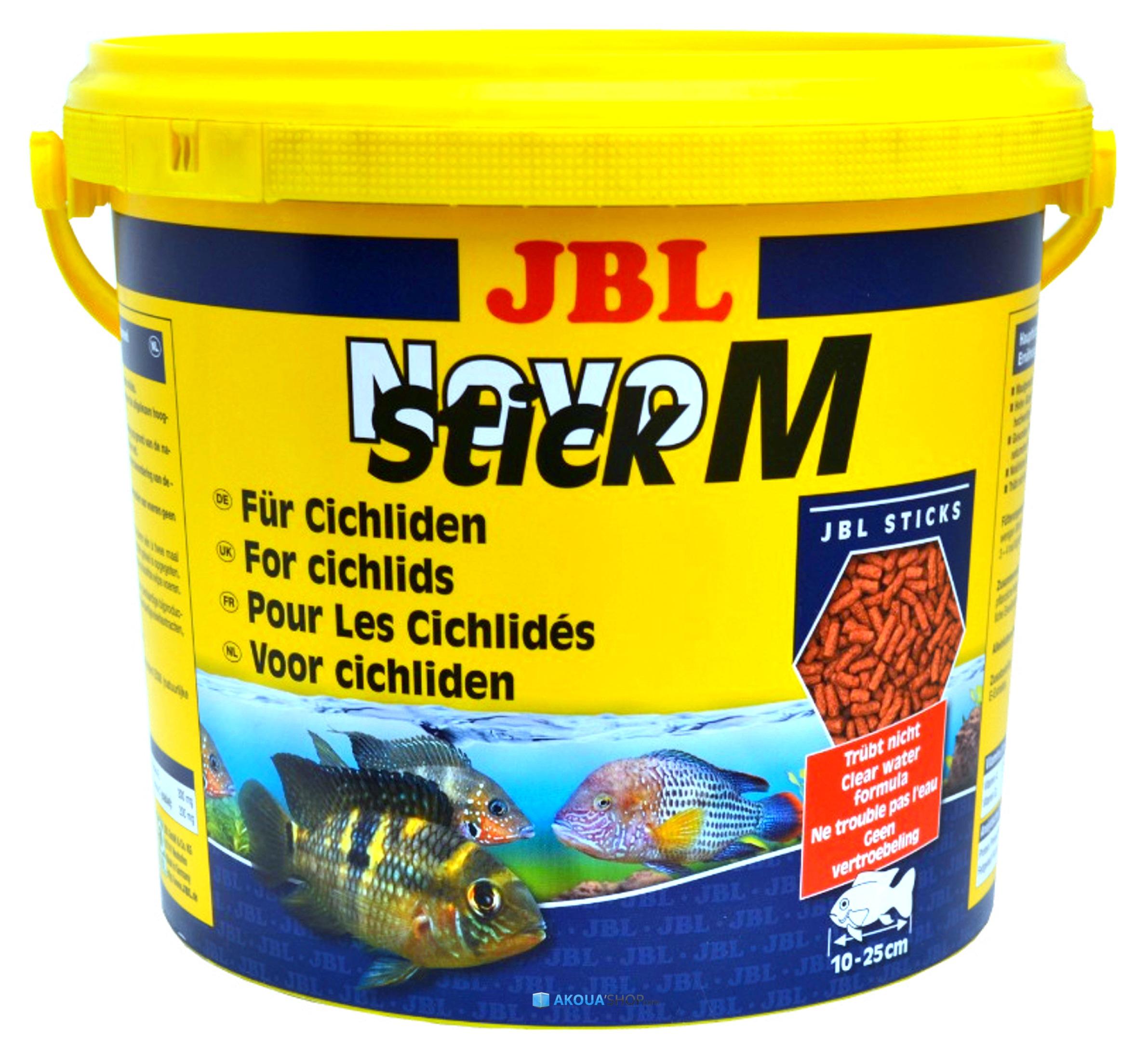 JBL NovoStick M 5,5 L en granulés spéciale cichlidés