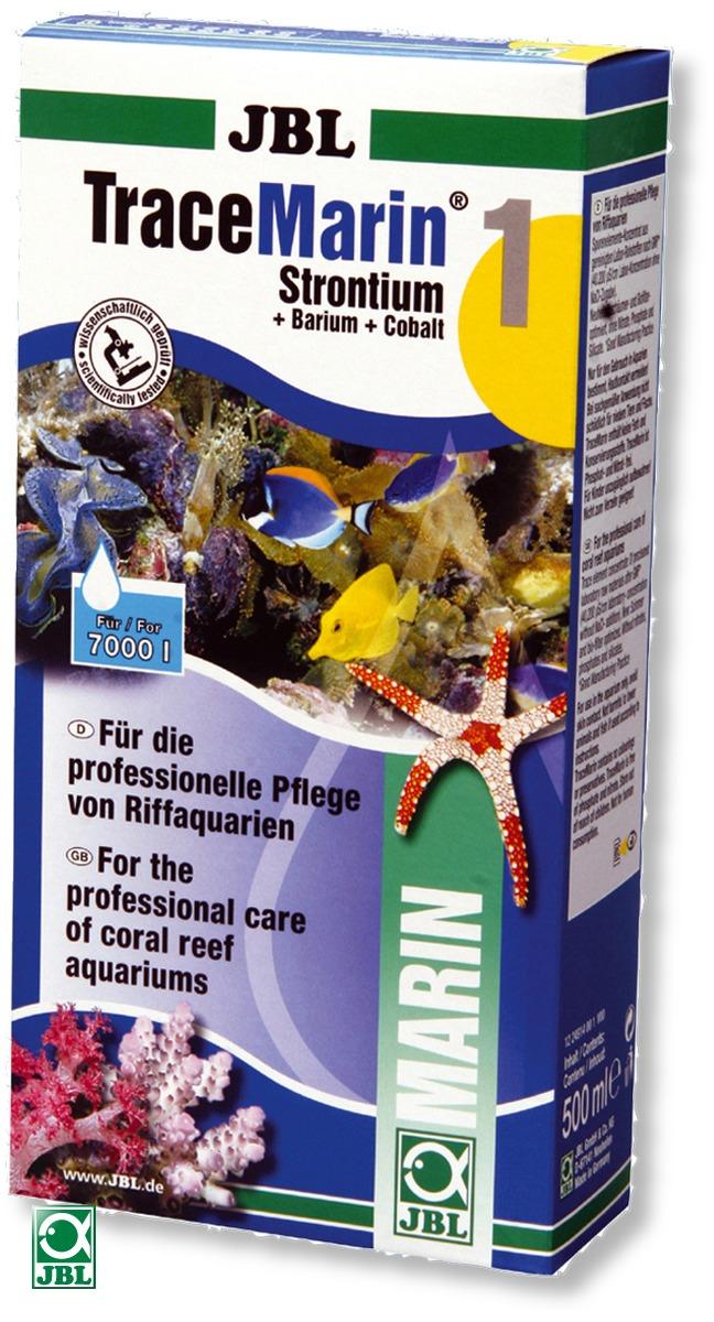 JBL TraceMarin 1 - 500 ml complément en strontium pour les aquariums d\'eau de mer