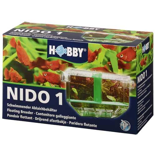 HOBBY Nido 1 pondoir flottant 19,5 x 11 x 19 cm s\'adaptant automatiquement au niveau de l\'eau