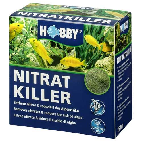 HOBBY Nitrat Killer 250ml masse de filtration anti-nitrate pour aquarium