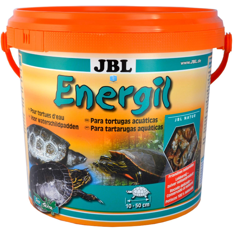 JBL Energil 2,5 L gourmandises à base de poissons et crustacés pour tortues d\'eau