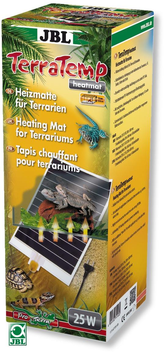 JBL TerraTemp Heatmat 25W tapis chauffant de 28 x 60 cm pour terrarium