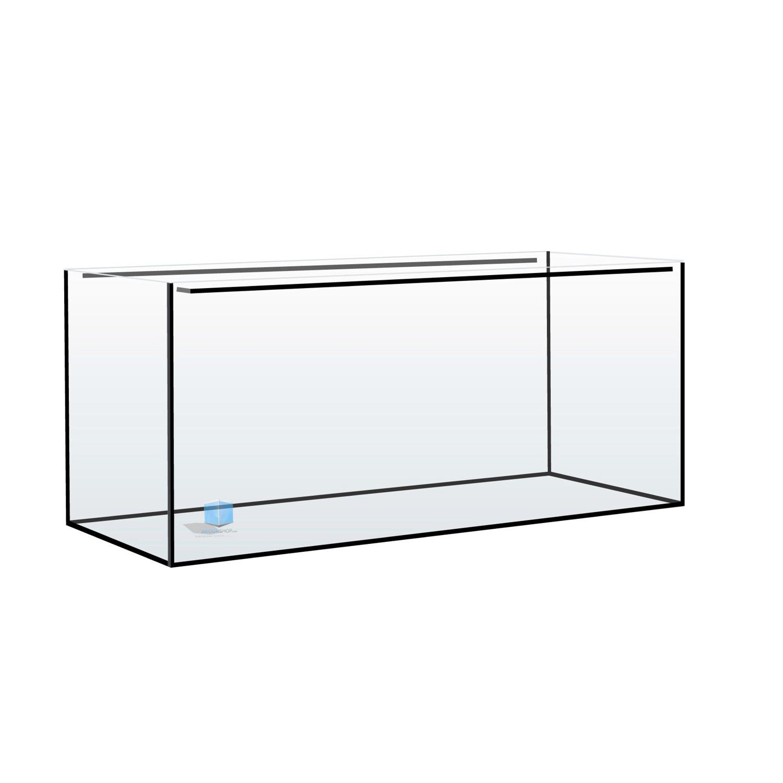 AQUAVIE Aquarium nu 112 litres sans cornières 80 x 35 x 40 cm. Cuve nue livrée sans équipement