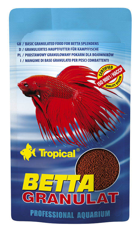 Tropical betta granulat 10grs nourriture en granul es pour for Tropical nourriture poisson