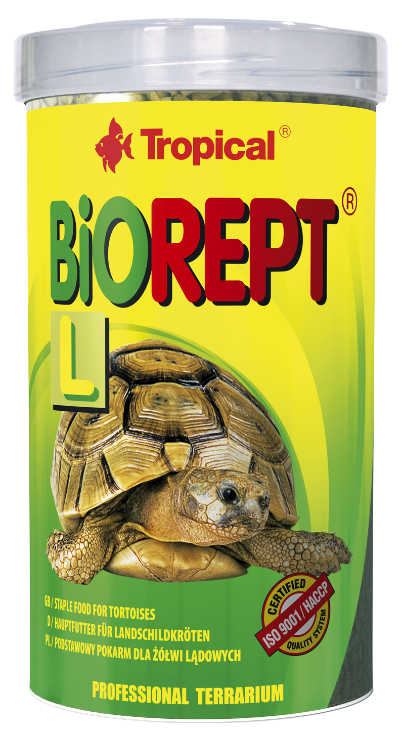 TROPICAL BioRept L 250ml Sticks bâtonnets à multi ingrédients pour tortues de terre