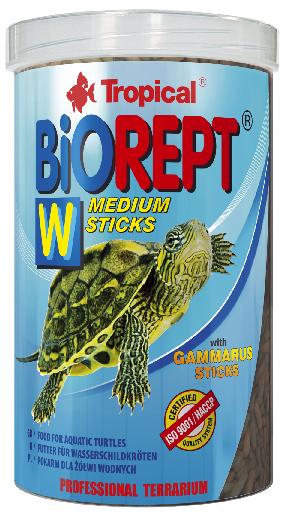TROPICAL BioRept W 250ml Sticks bâtonnets à multi ingrédients tortues aquatiques